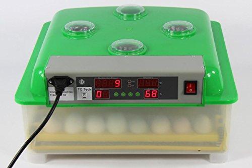 Inkubator VOLLAUTOMATISCH BK48Pro Modell 2017 + Zubehör, neue Generation, 48 Eier, Brutautomat, Brutmaschine - 3
