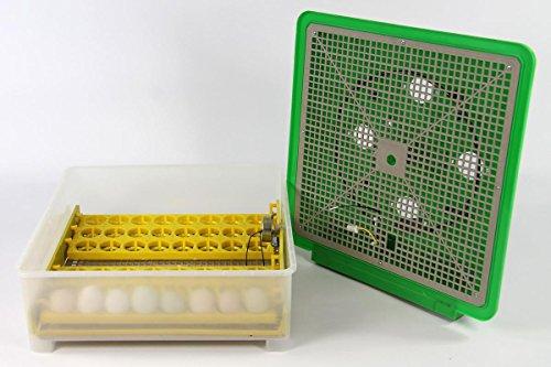 Inkubator VOLLAUTOMATISCH BK48Pro Modell 2017 + Zubehör, neue Generation, 48 Eier, Brutautomat, Brutmaschine - 5